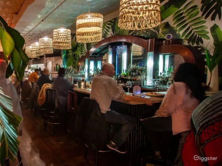 Caribbean Inspired Cocktail Bar Area Photo 4