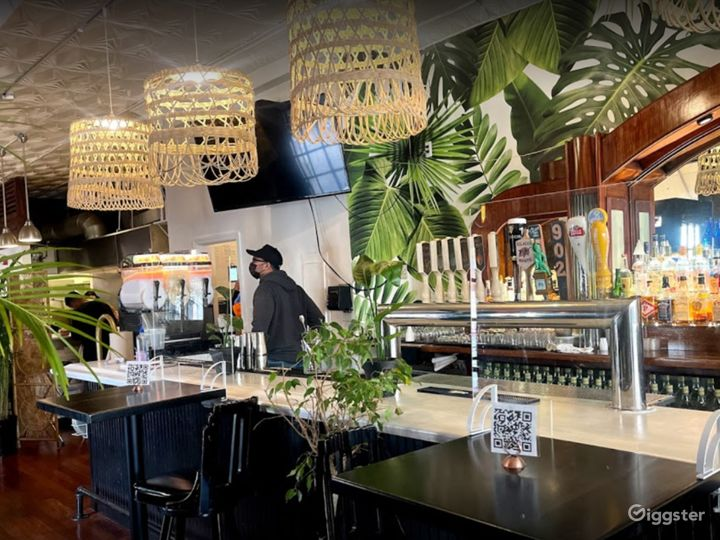 Caribbean Inspired Cocktail Bar Area Photo 5