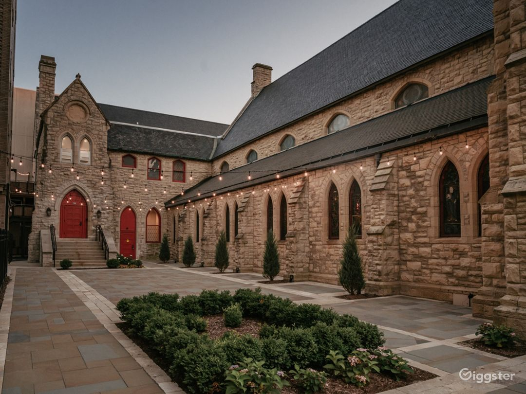 Abbey Outside Courtyard Photo 1