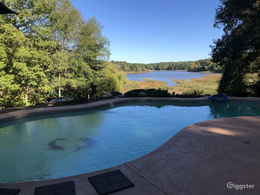 Lake and Pool View