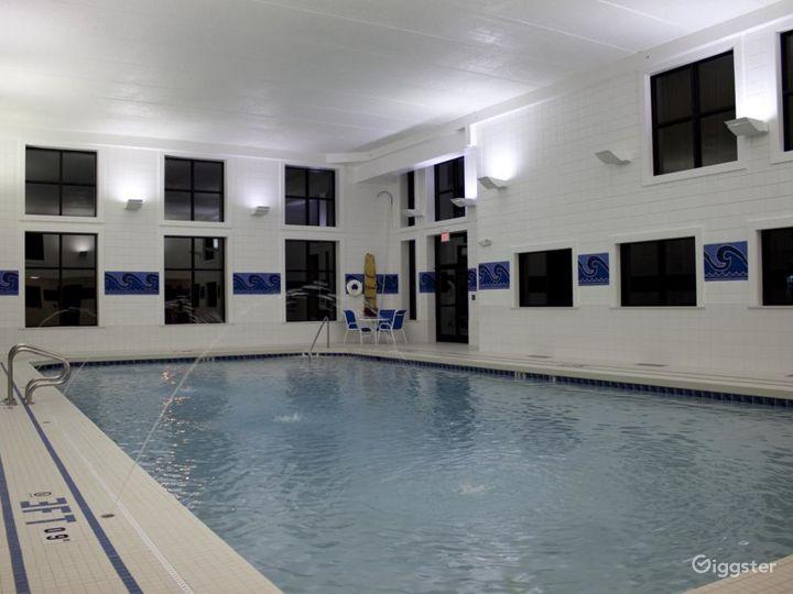 Crystal clear indoor pool in Ohio Photo 3
