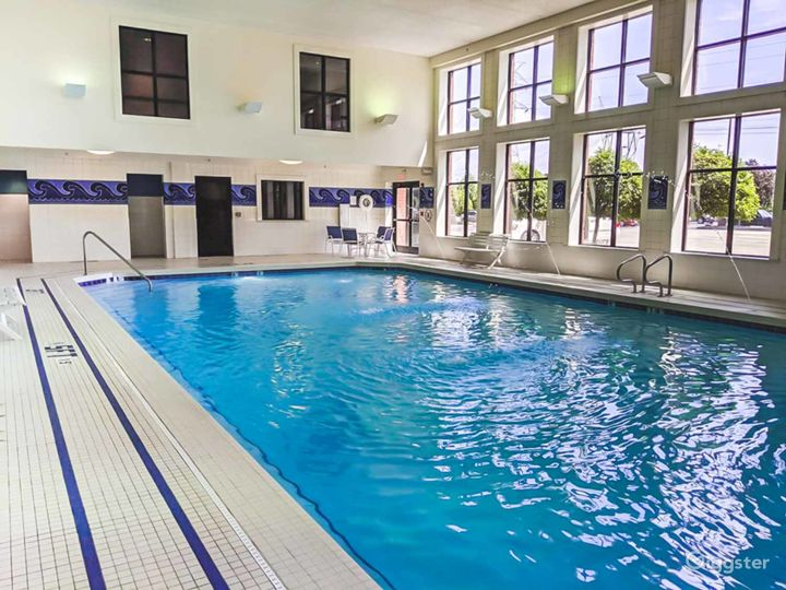 Crystal clear indoor pool in Ohio Photo 5