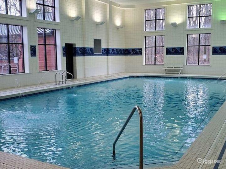 Crystal clear indoor pool in Ohio Photo 2