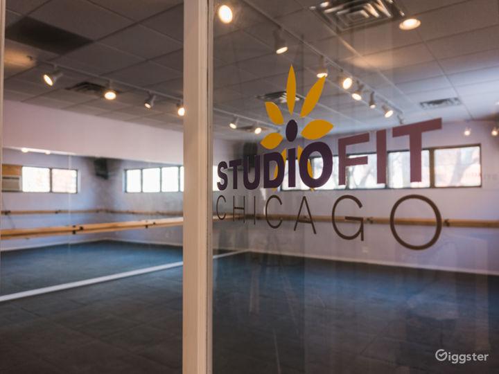 North Studio with labeled door