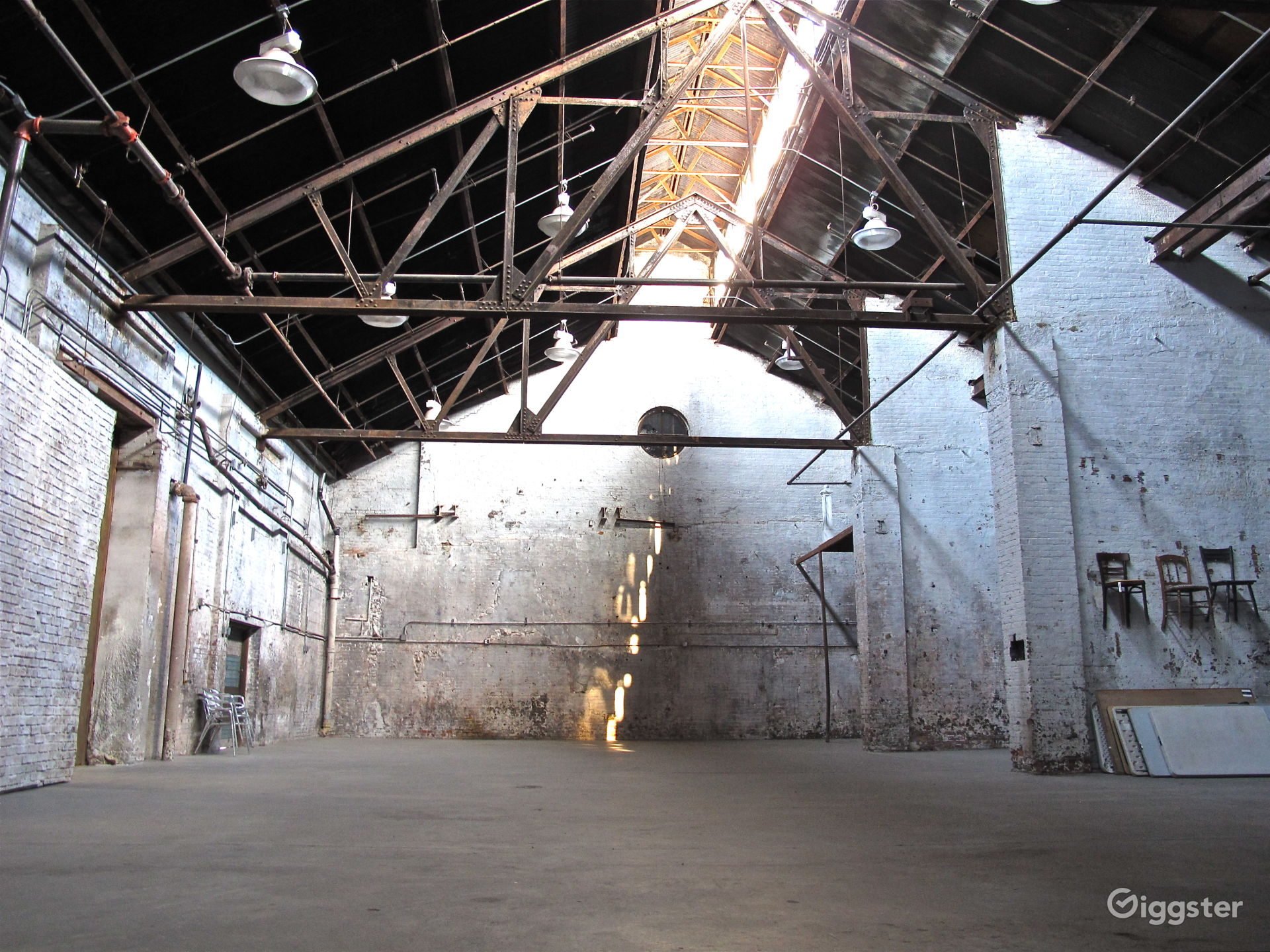 Shabby Chic Industrial Warehouse in Brooklyn New York Rental