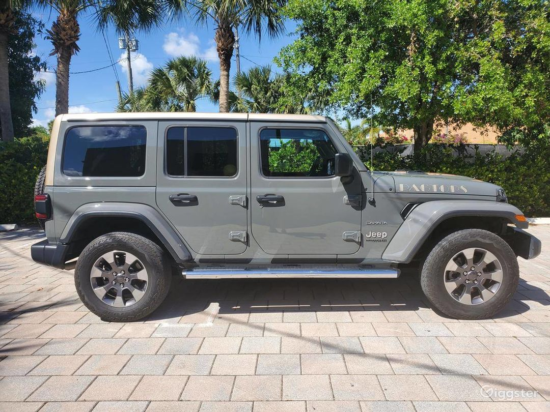 A Must have 2019 Jeep Wrangler Unlimited Sahara  Photo 1