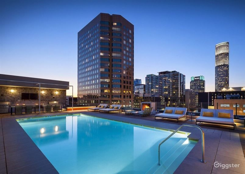 Panoramic Rooftop Pool in LA Photo 1