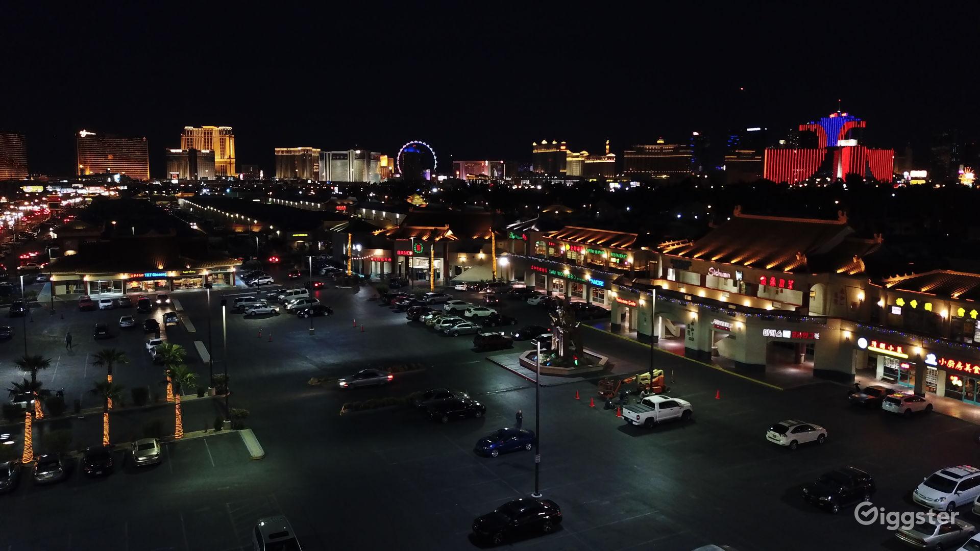 Chinatown Night Strip View