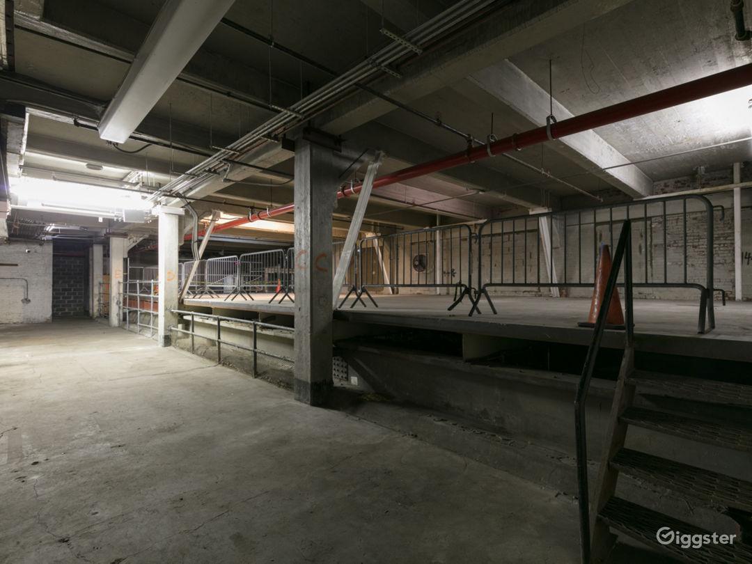 3-Story Empty Warehouse along NYC Viaduct Photo 1