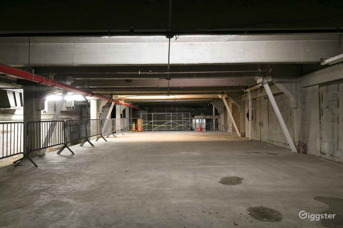 3 Story Empty Warehouse along NYC Viaduct in near General Grant Memorial New York Rental