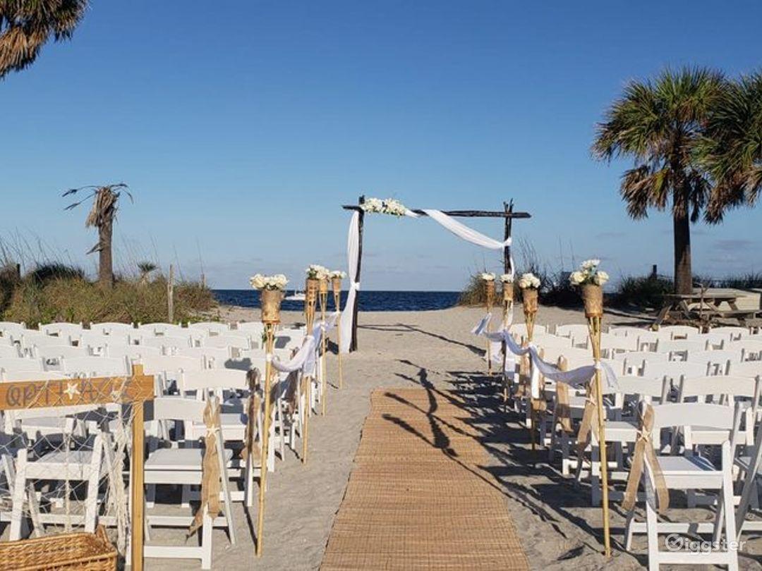 Beautiful Beach Venue in Florida Photo 1
