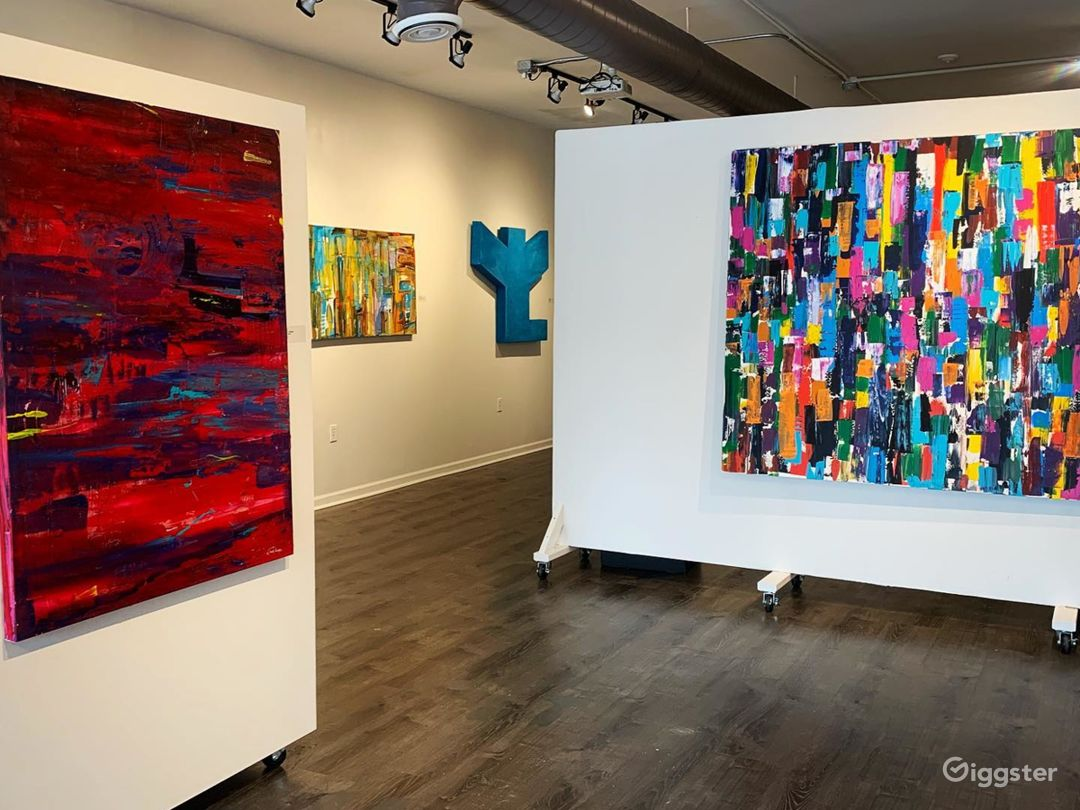 Spacious and Bright Gallery in Detroit Photo 1