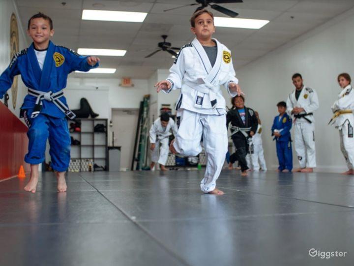 Spacious Jiu-Jitsu Studio Photo 2