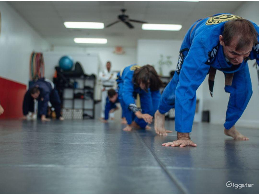 Spacious Jiu-Jitsu Studio Photo 1