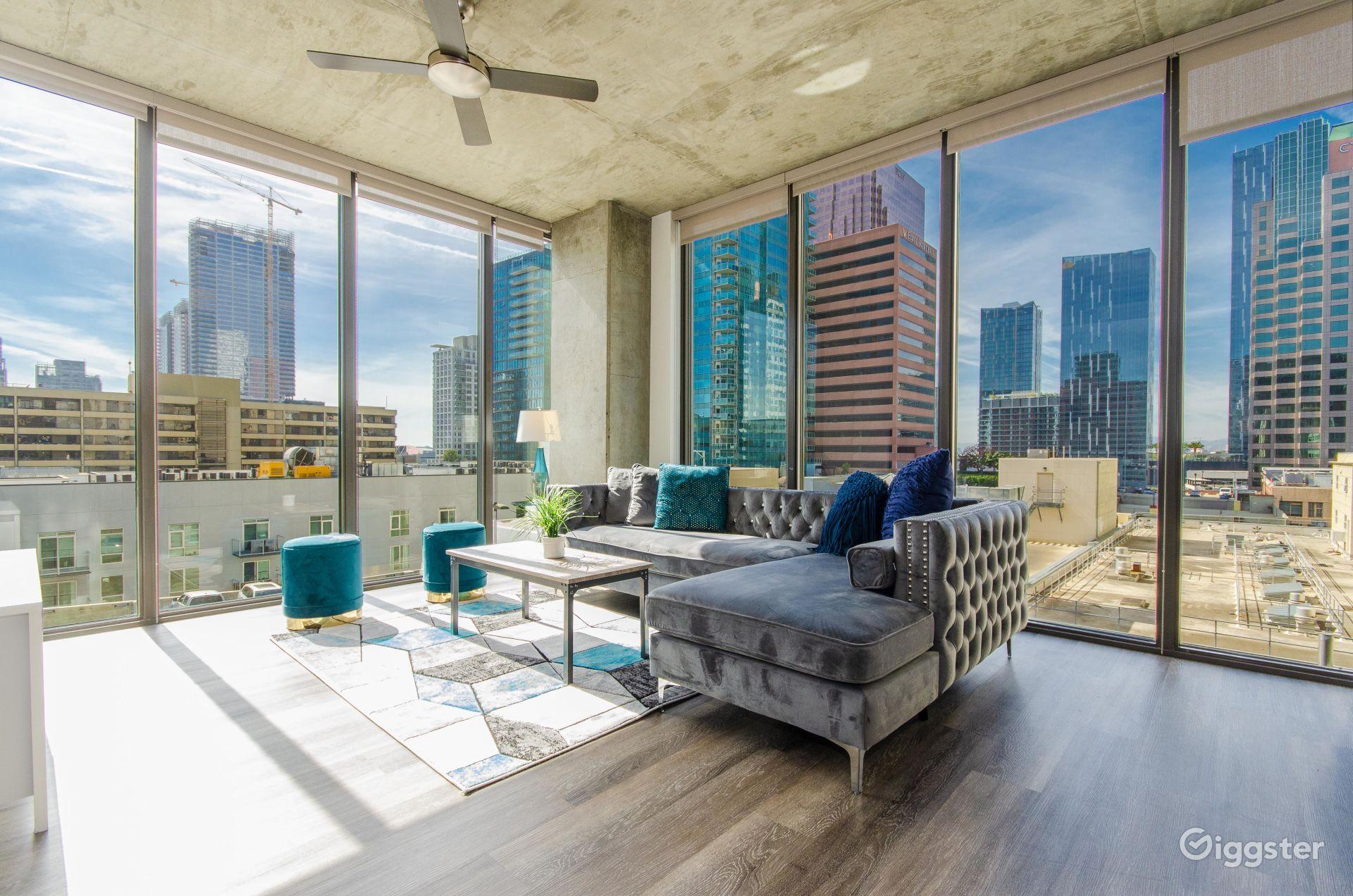 Urban DLTA Top Level Ultra Luxury Penthouse Los Angeles Rental