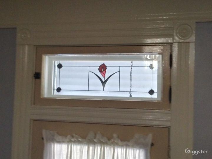 Window over front door