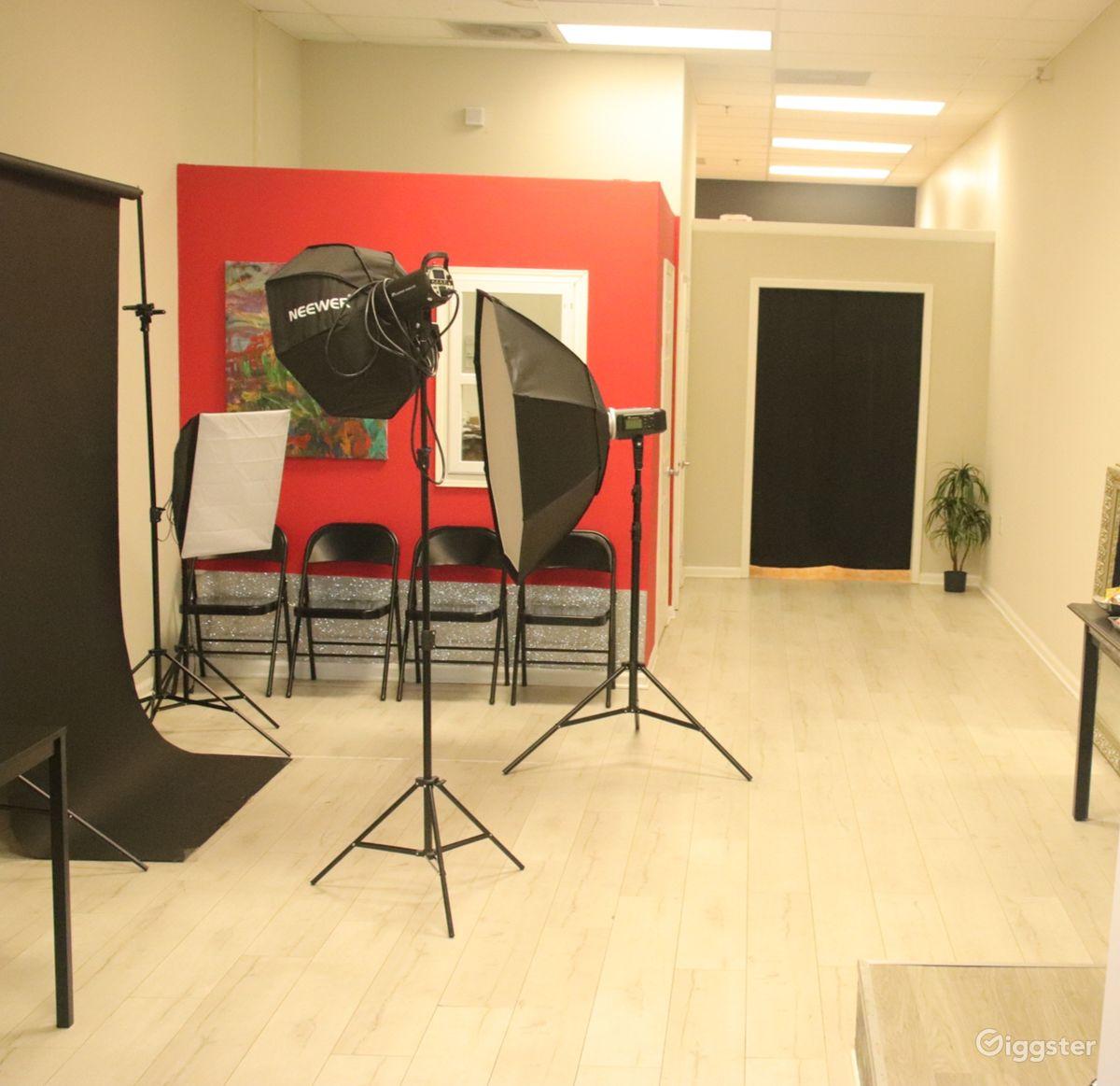Decatur Studio For Photo Shoots, Castings, Podcast