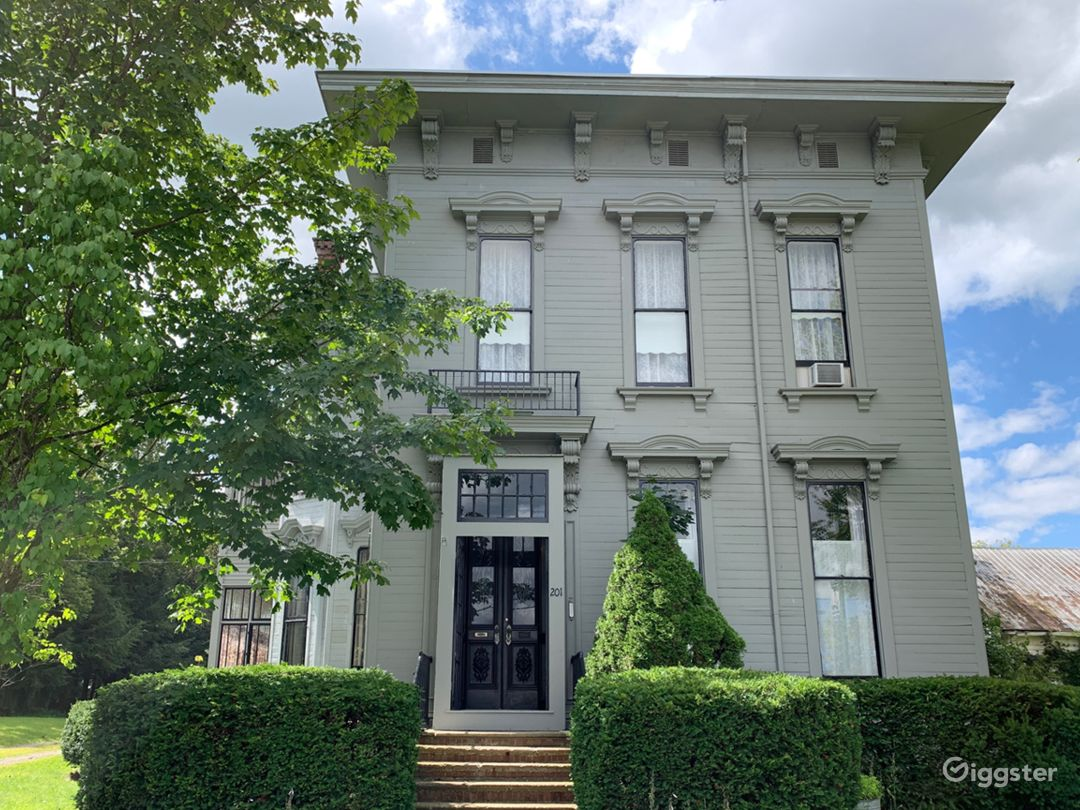 Italianate houses are identifiable by their wide projecting cornices with heavy brackets and their richly ornamented windows, porches, and doorways.
