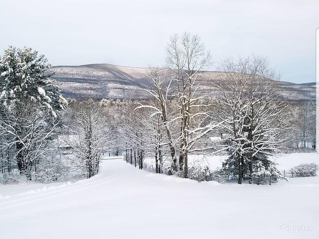 Castkill Mountain Views in Winter