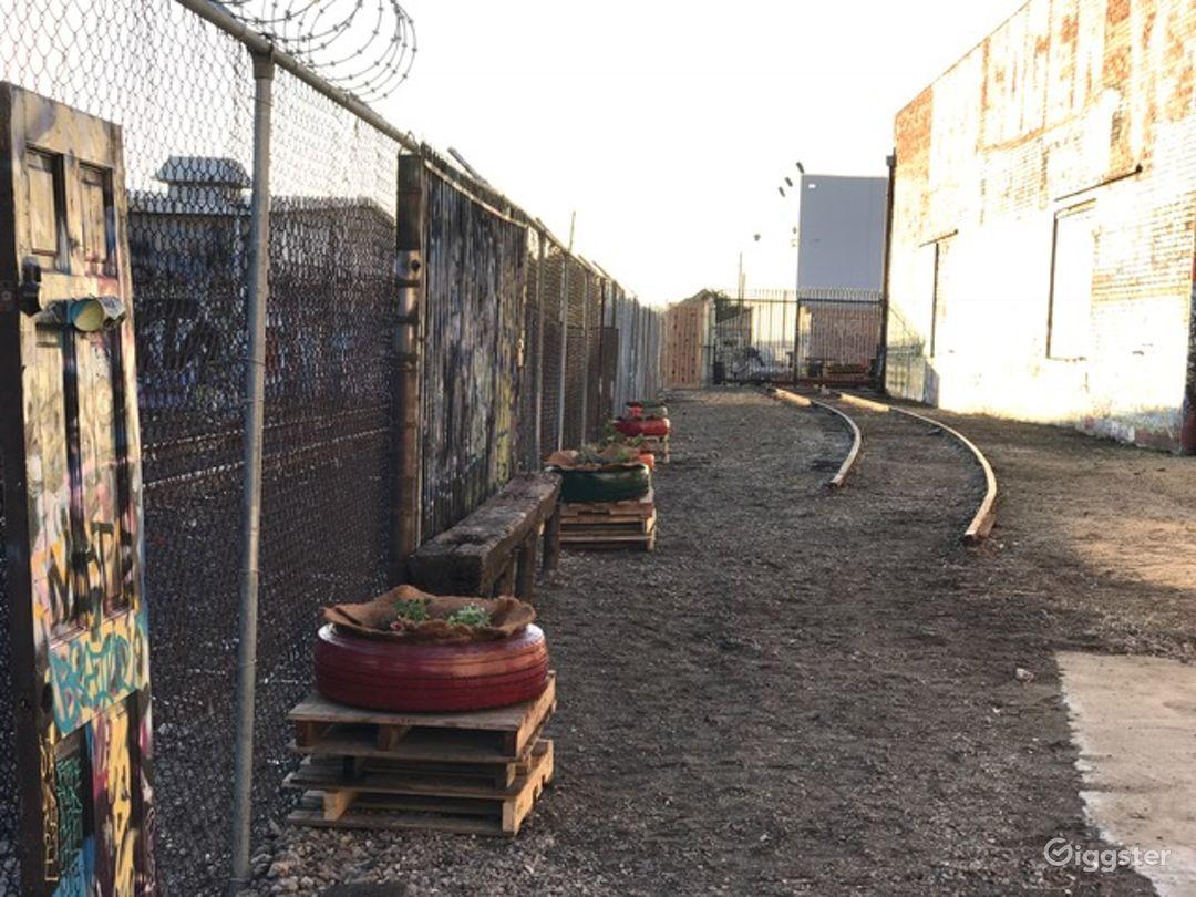 Graffiti Railroad Yard Filming Photo 5