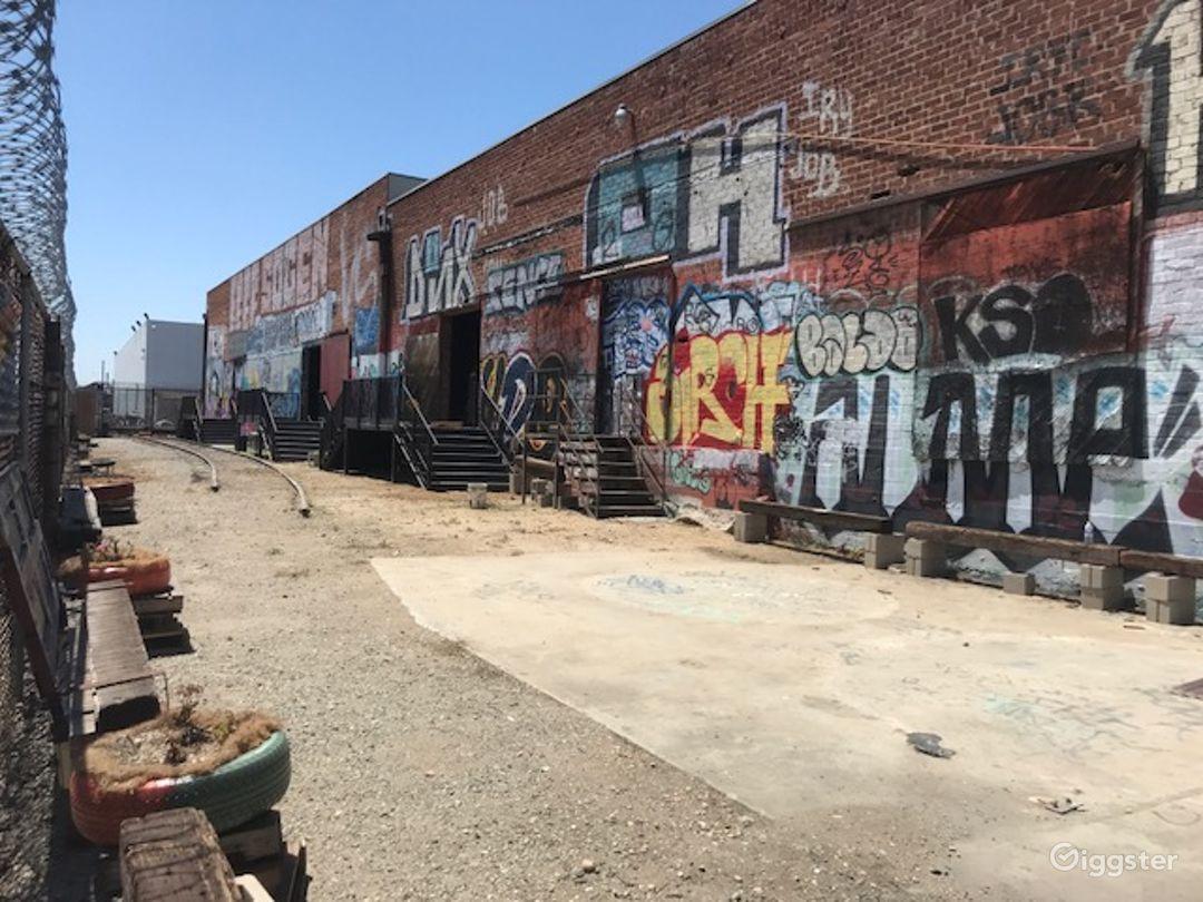 Graffiti Railroad Yard Filming Photo 1