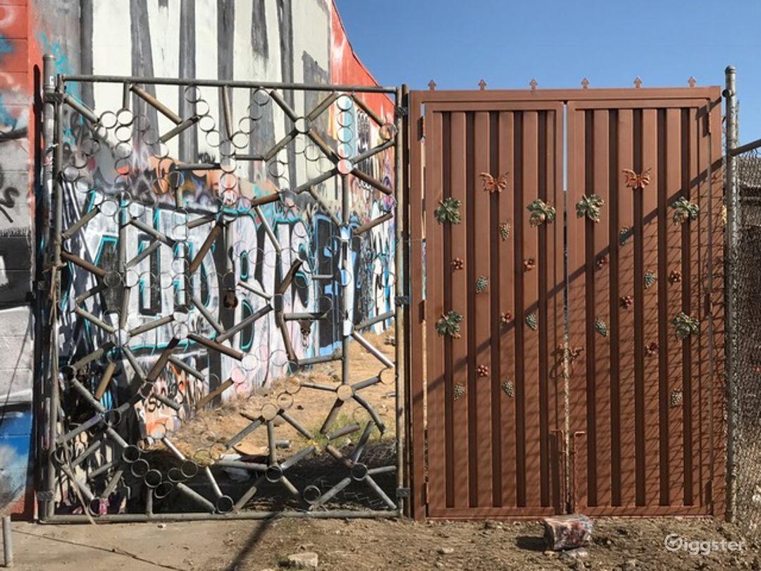 Graffiti Railroad Yard Filming Photo 4