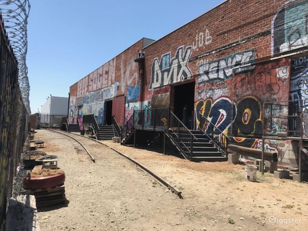 Graffiti Railroad Yard Filming Photo 3