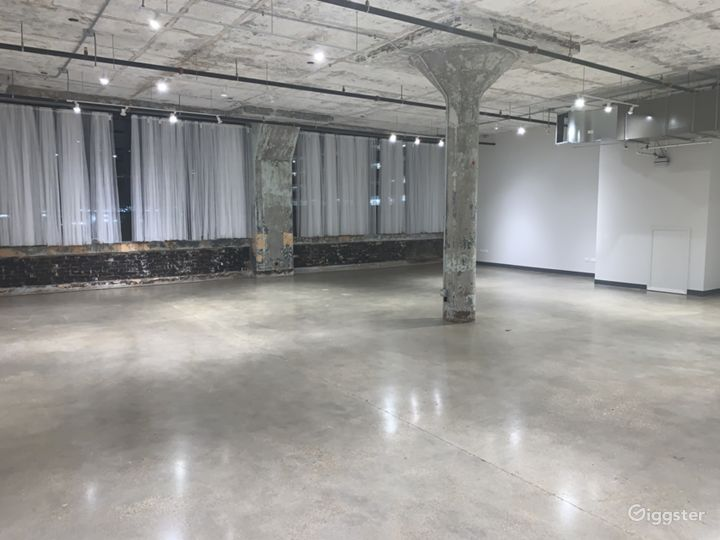 Art Deco Chic Gallery Event Rental Space