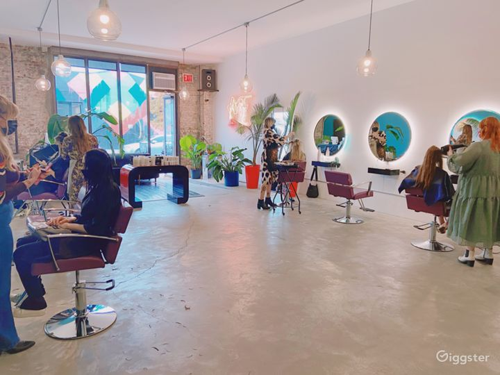 Hair Salon for Event Space in a cool neighborhood in Brooklyn Photo 4