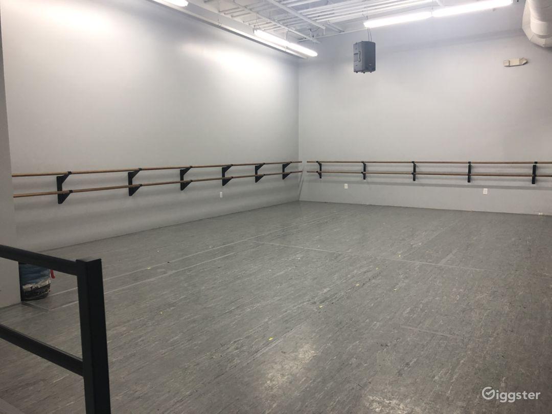 "Studio ""B"" image 1  800 sf"