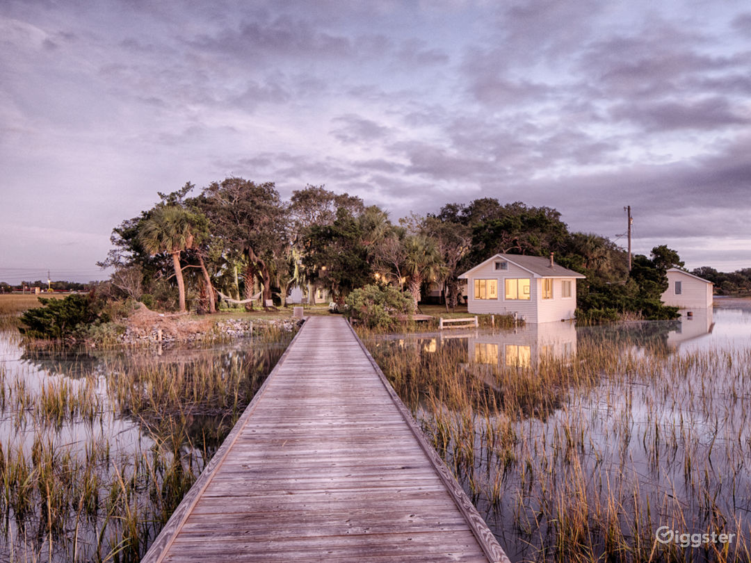 Private 2 Acre Island near Tybee Island Photo 1