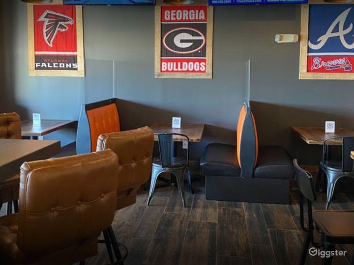 Cozy Indoor Dining Space in Alpharetta Photo 4