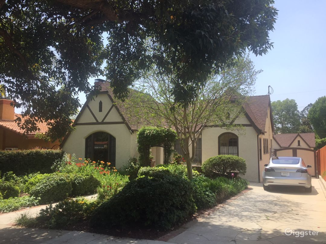 Tudor Home, built in 1927, in a one of the oldest residential neighborhoods.