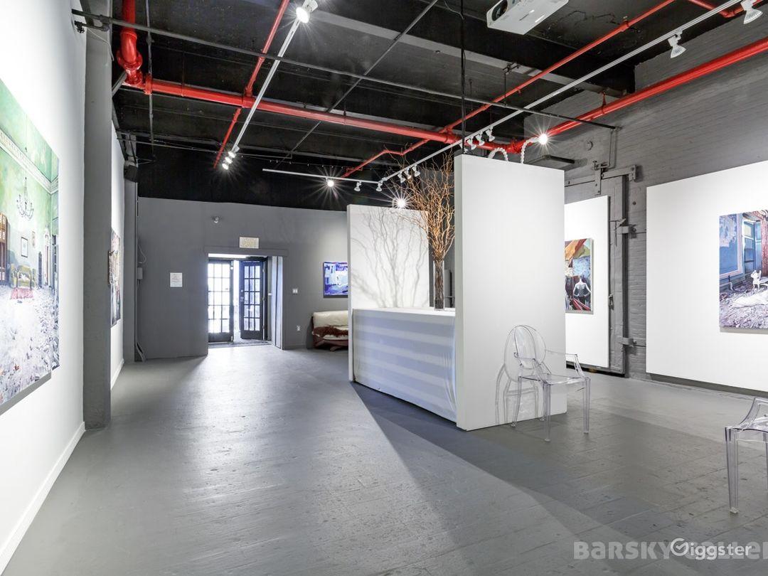 Urban-Chic Gallery Space in Hoboken Photo 1