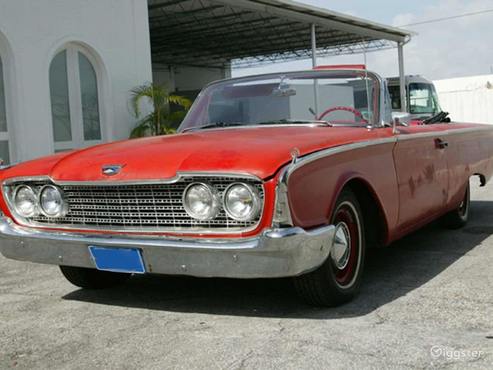 Slick Red 1960 Ford Galaxie Convertible Photo 4