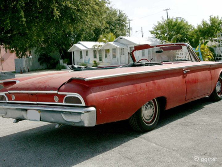 Slick Red 1960 Ford Galaxie Convertible Photo 5