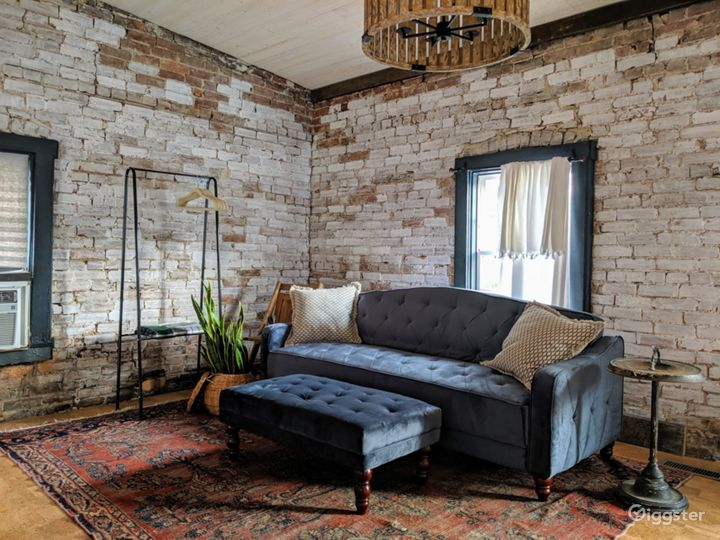Urban, on-trend carriage house studio