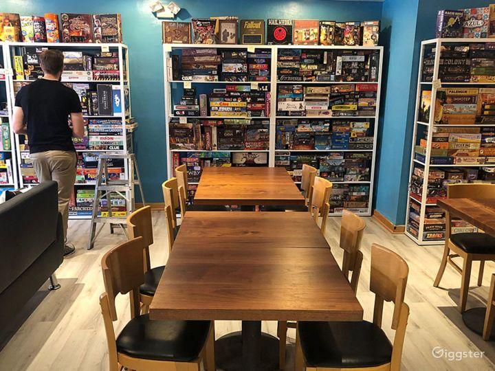 Board Game Cafe in Philadelphia