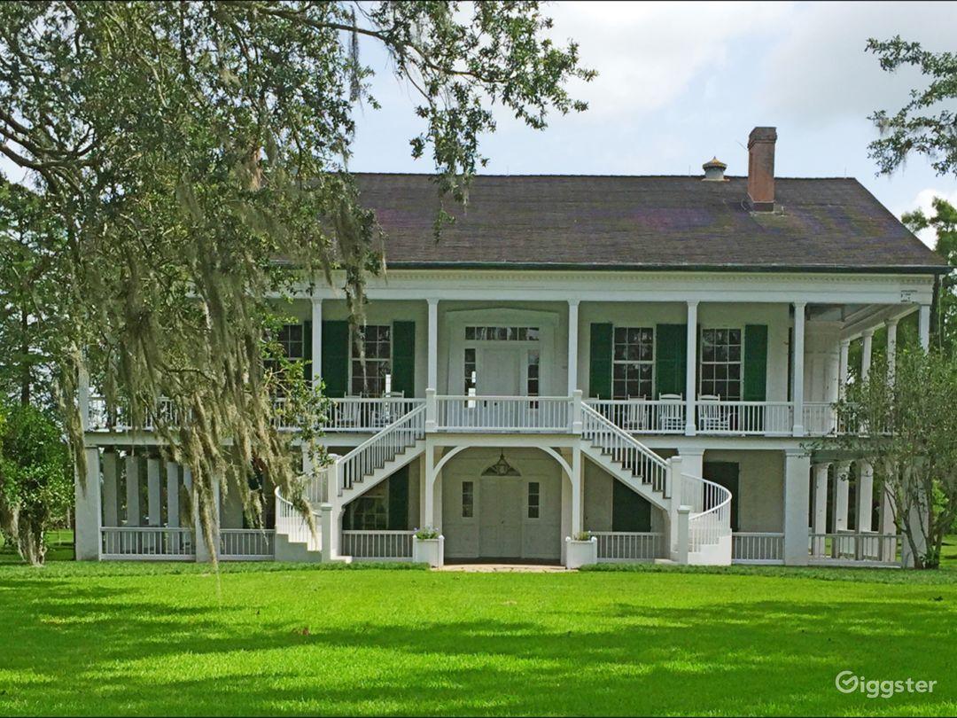 1820s Louisiana Plantation