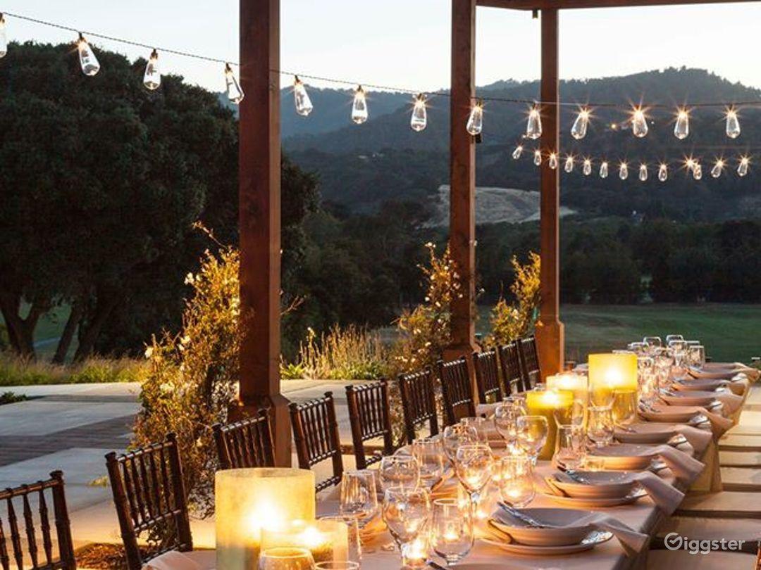 Picturesque Wedding Patio in San Rafael Photo 1