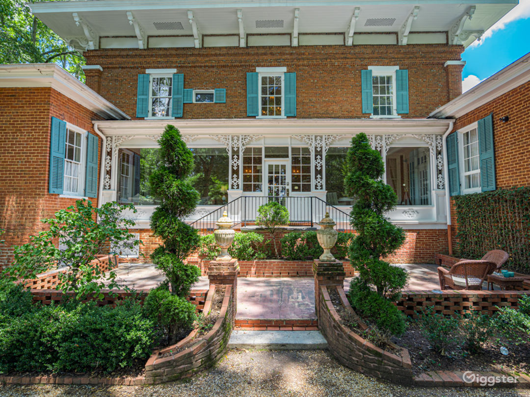 Antebellum House with a Private Backyard Photo 1