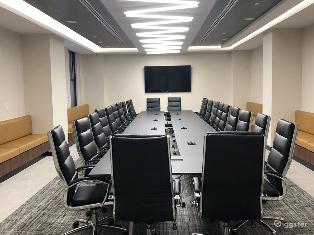 conference rooms are also available to rent in the location