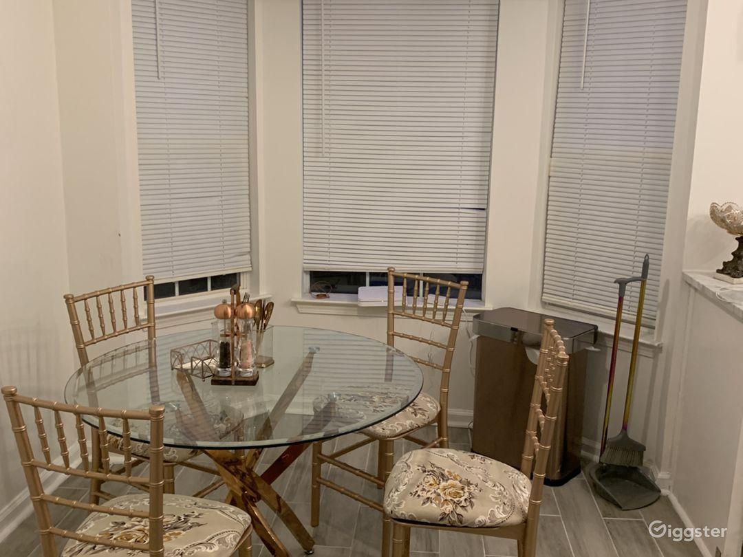 Kitchen table area