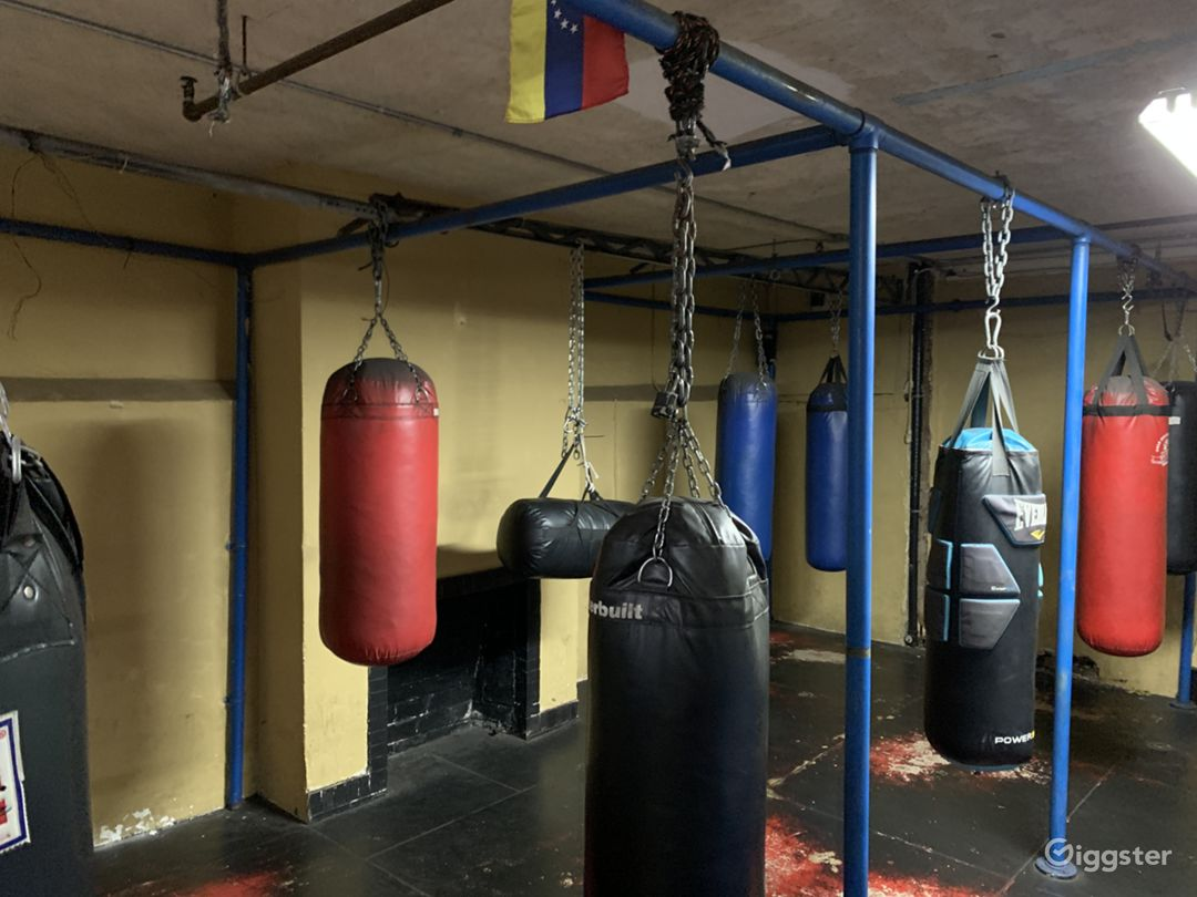 South LA Boxing Ring and Gym for Production  Photo 3