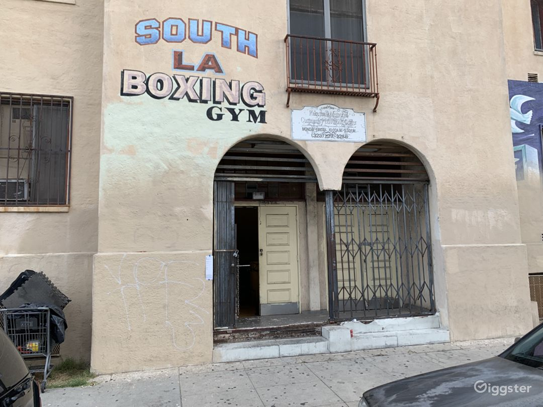 South LA Boxing Ring and Gym for Production  Photo 5