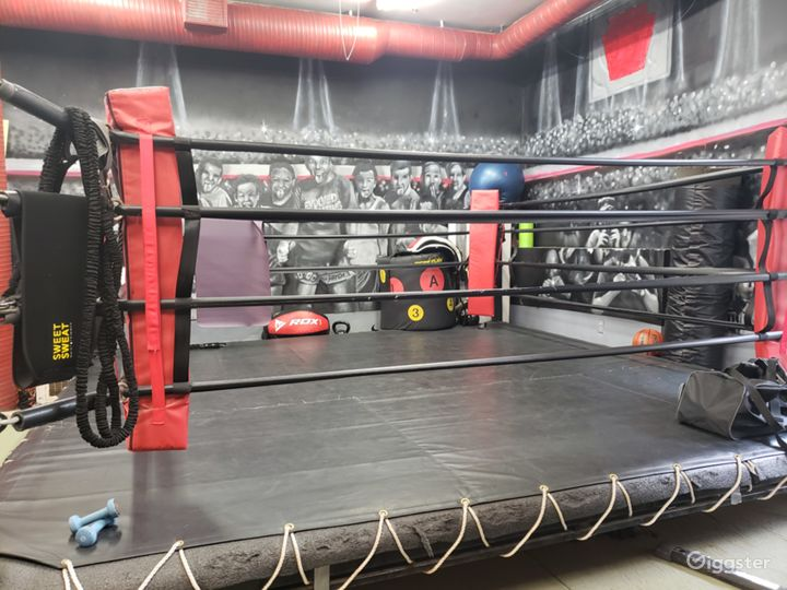Industrial Boxing Gym in Urban Location Photo 2