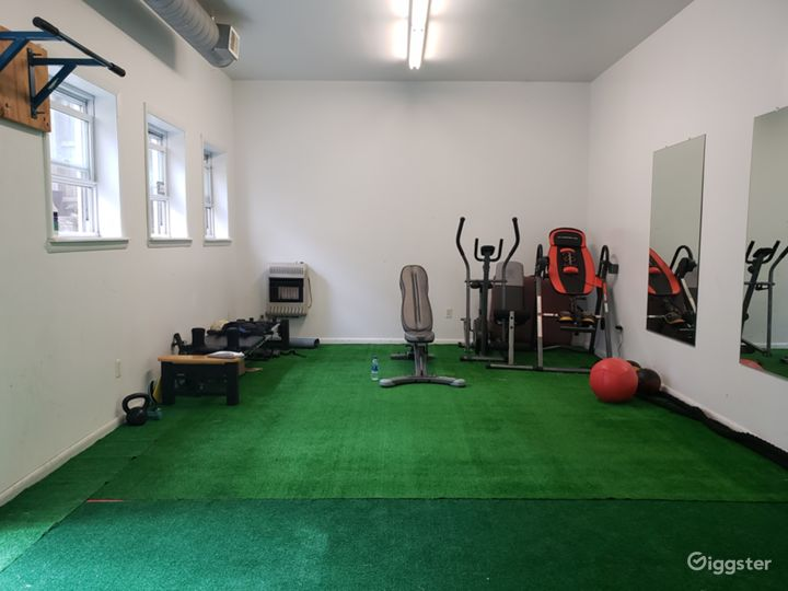 Industrial Boxing Gym in Urban Location Photo 4