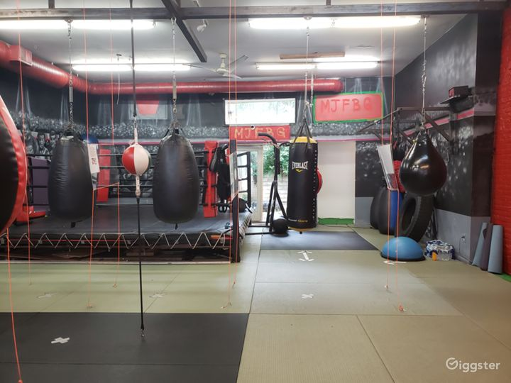 Industrial Boxing Gym in Urban Location Photo 3
