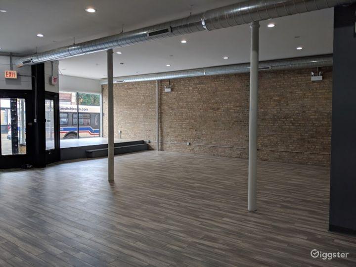 Industrial-Chic, Open-Floor Plan Venue