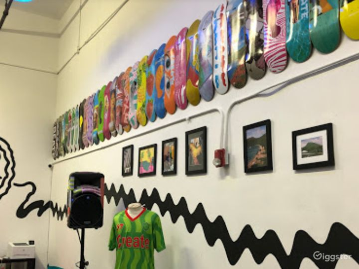 Stylish Skateboard Shop for Productions in SF  Photo 4